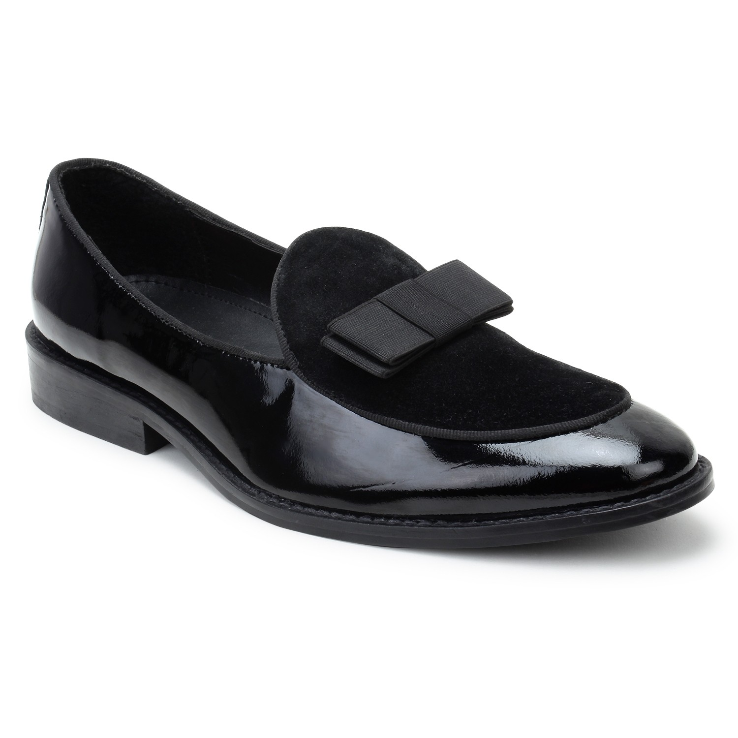 Leather Shoes P.Black