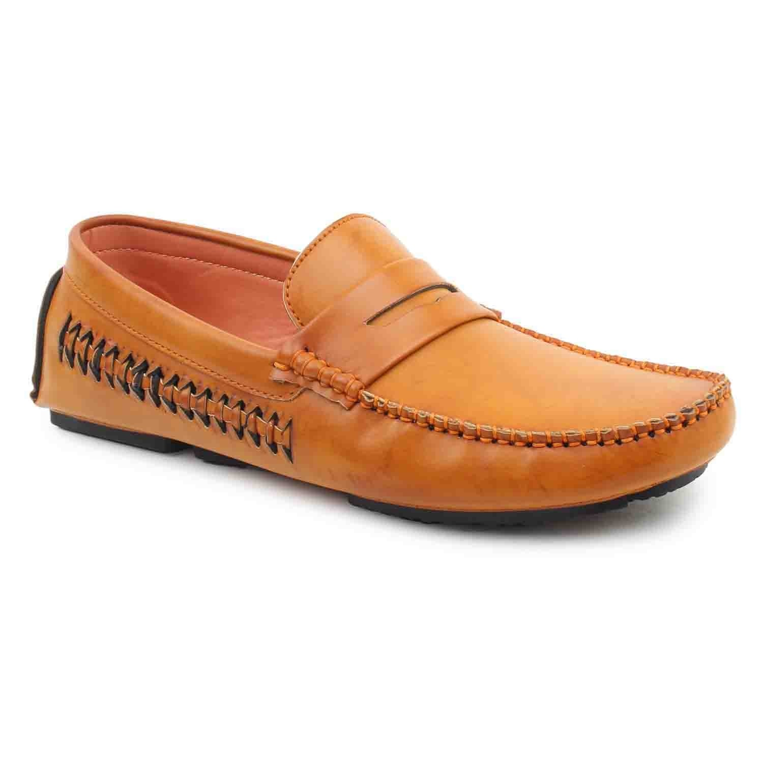 Leatherite-Shoes-Tan