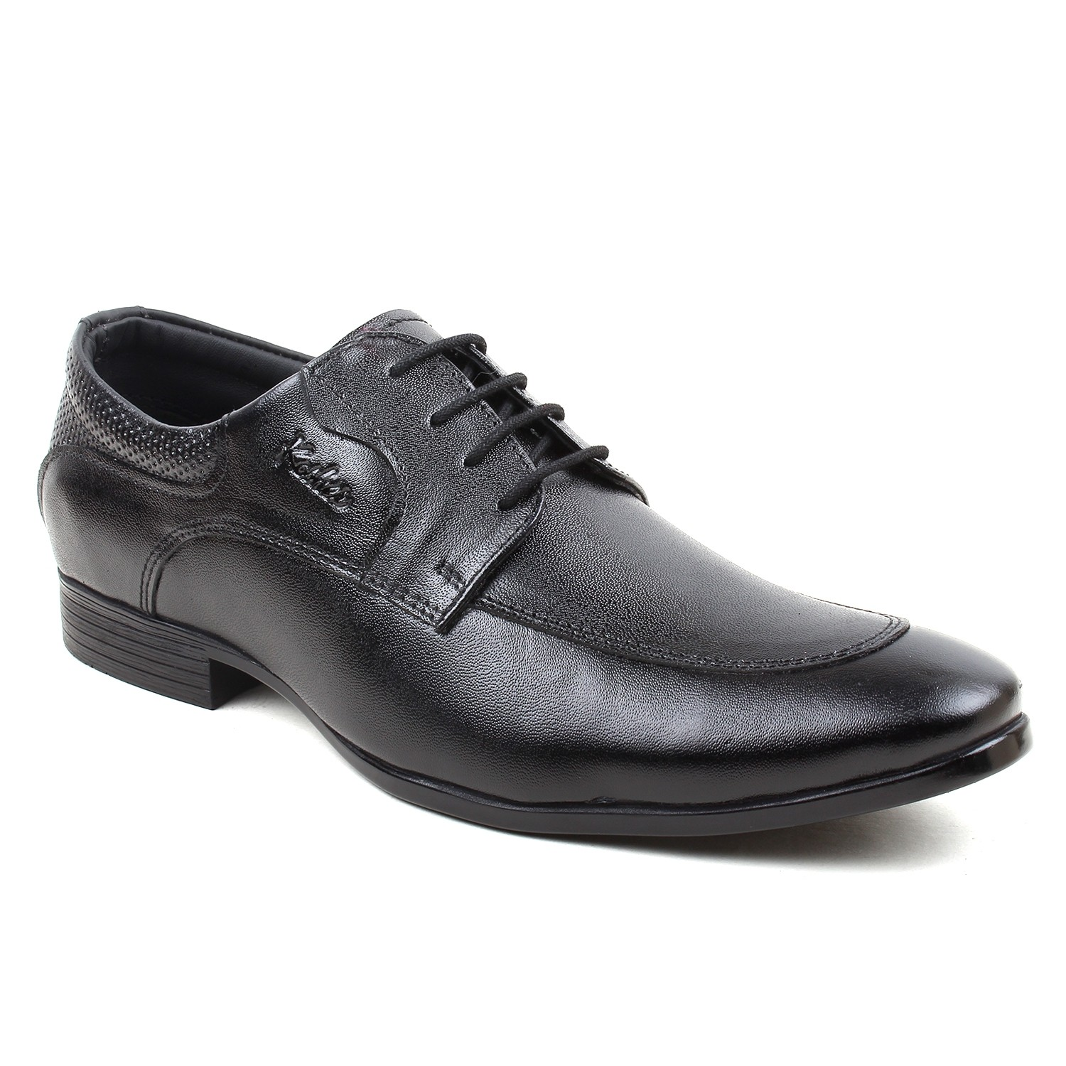 Kosher Leather Black Shoe Men