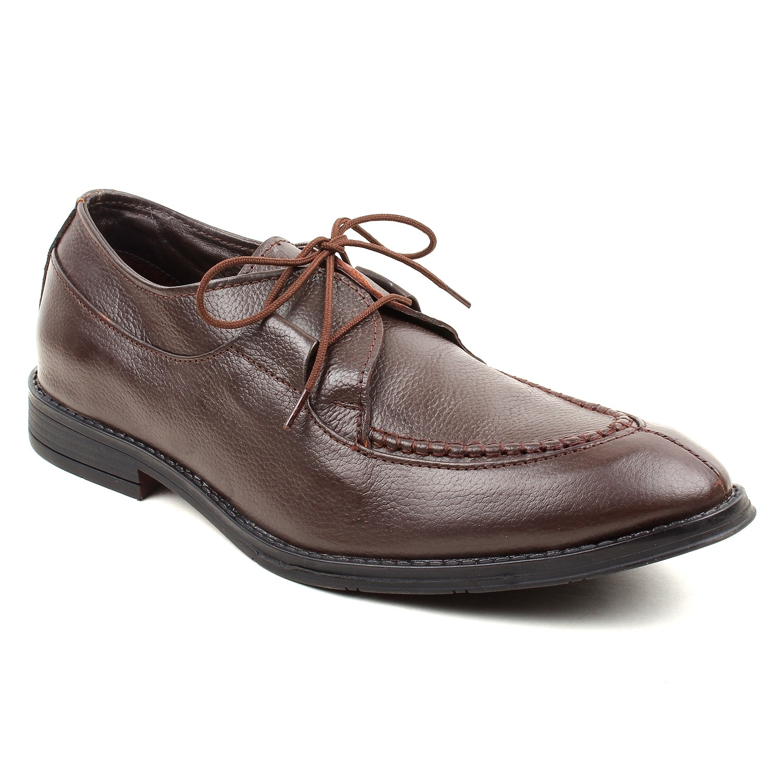 Kosher Leather Brown Shoe Men