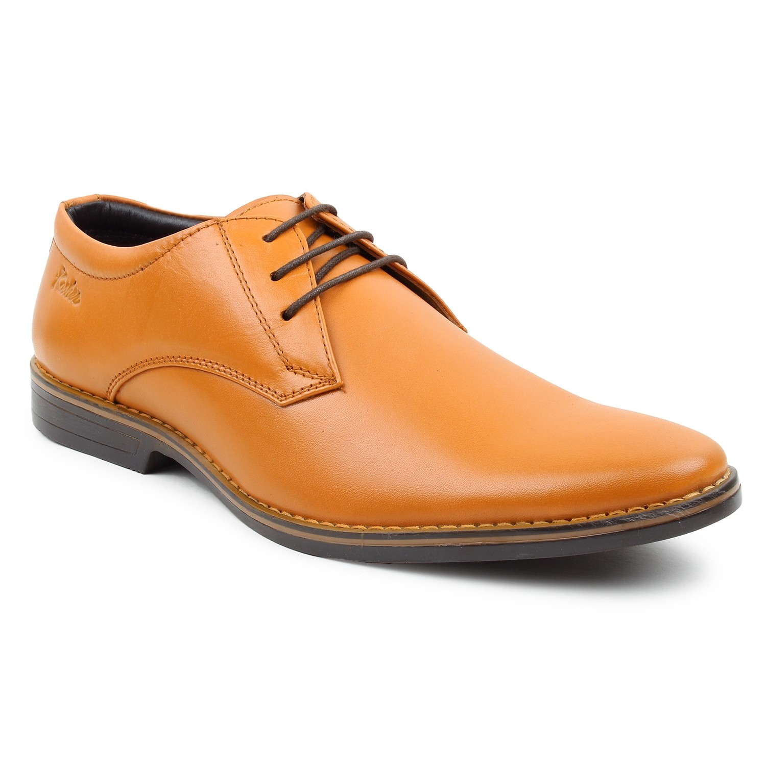 Leather Shoes Tan