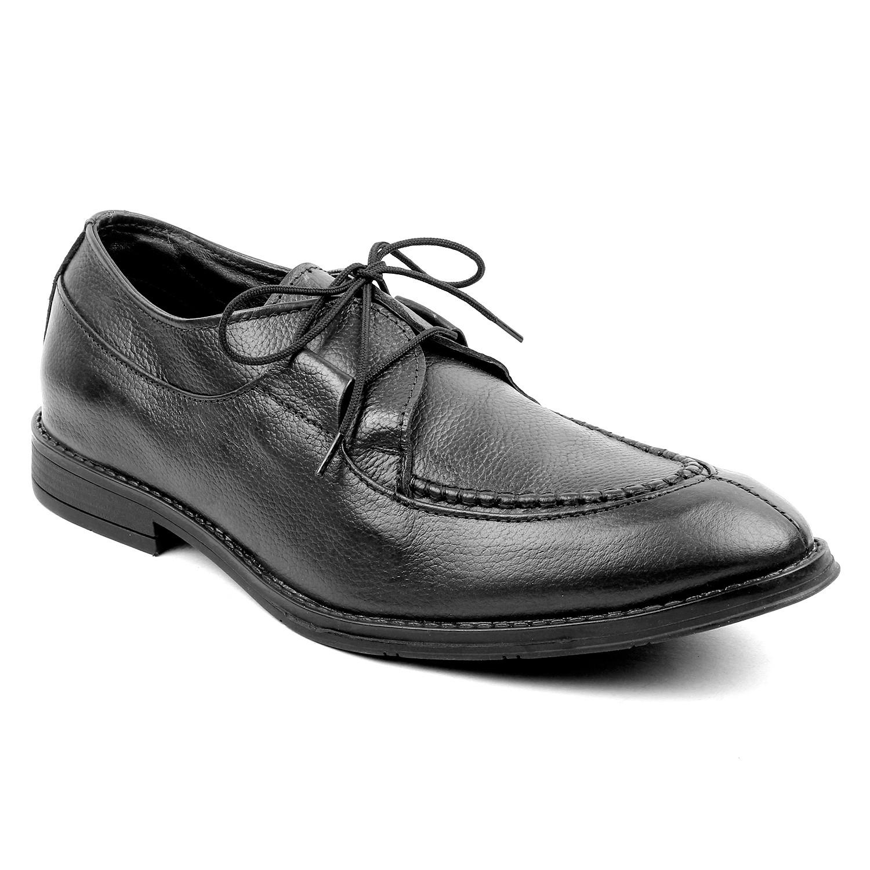 Kosher Leather Black Shoe Men