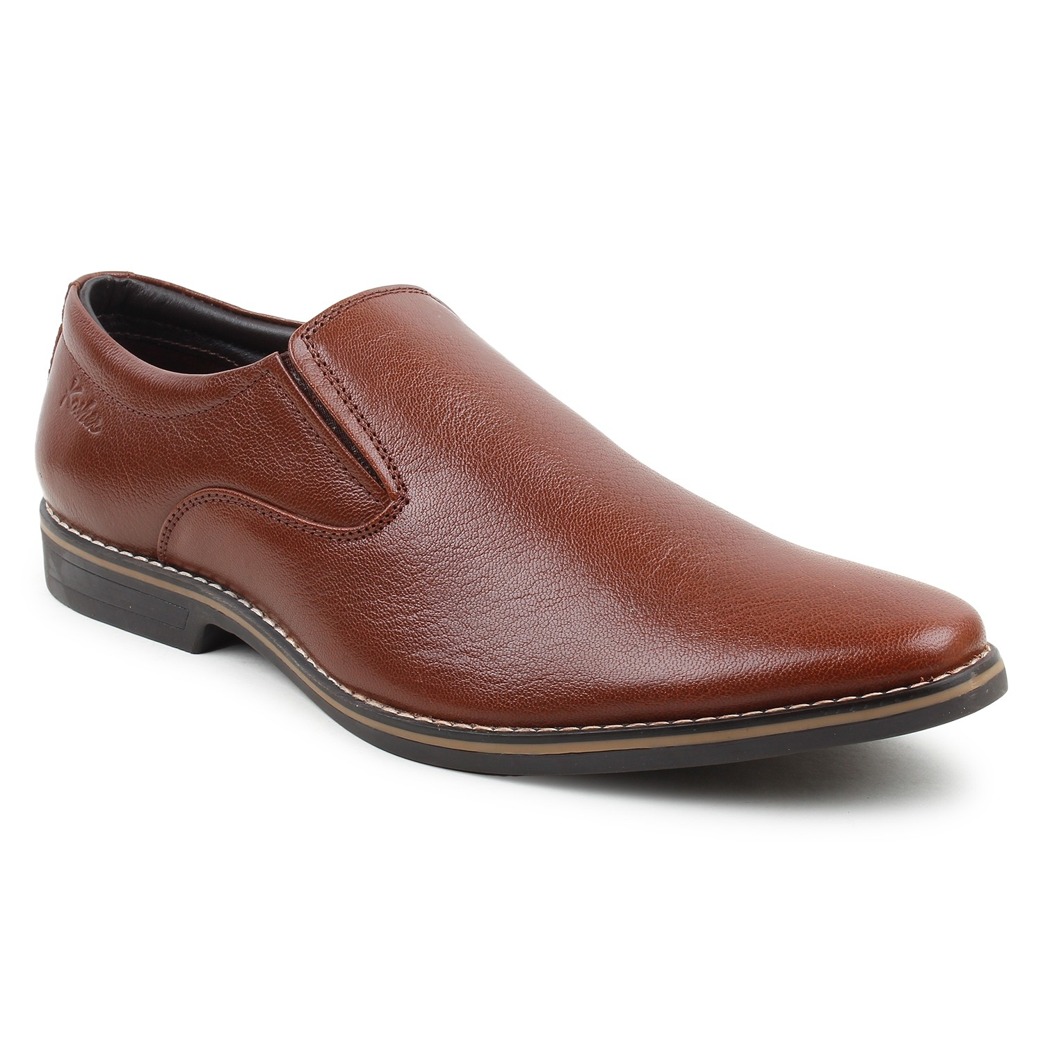 Leather Shoes Brown