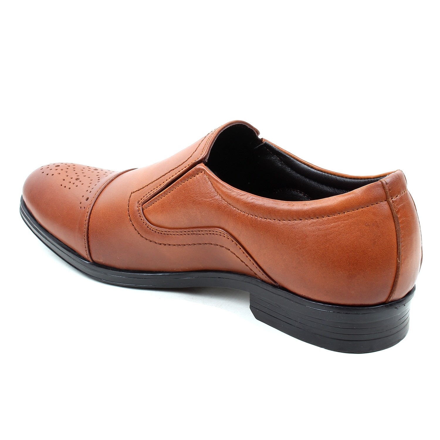 Kosher Leather Brown Shoes Men