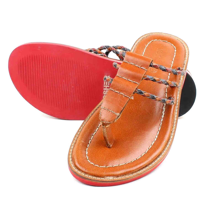 Sandal & Slipper Tan