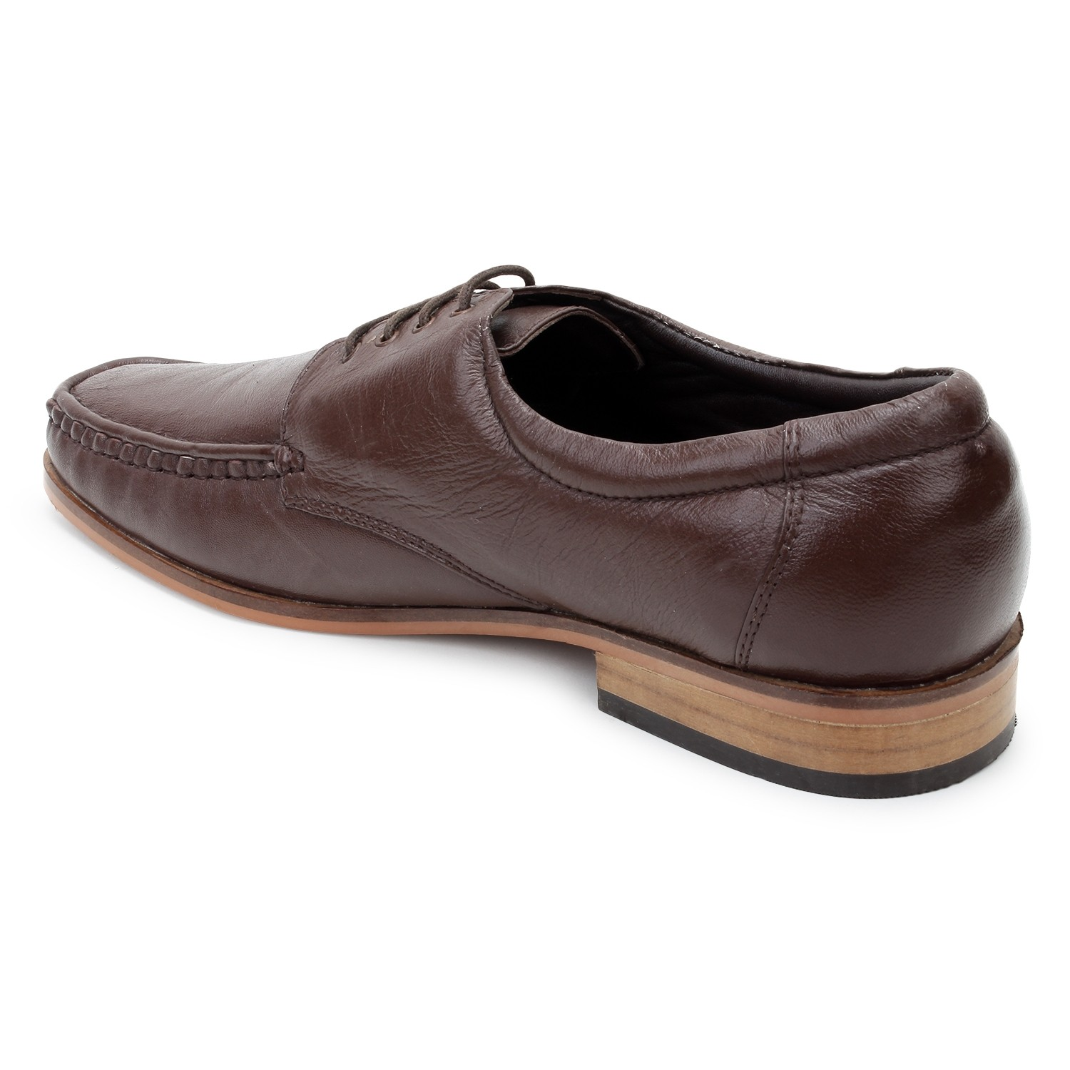 Kosher Leather Brown Shoe Men