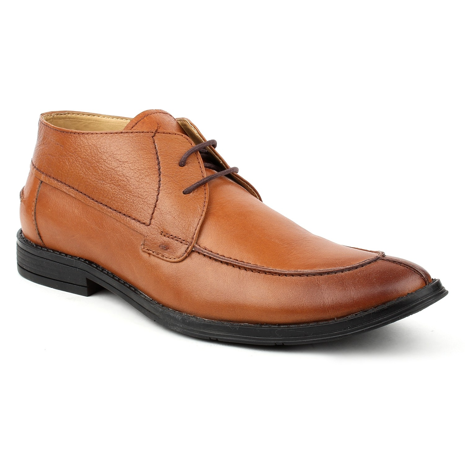 Kosher Leather Tan Shoes Men