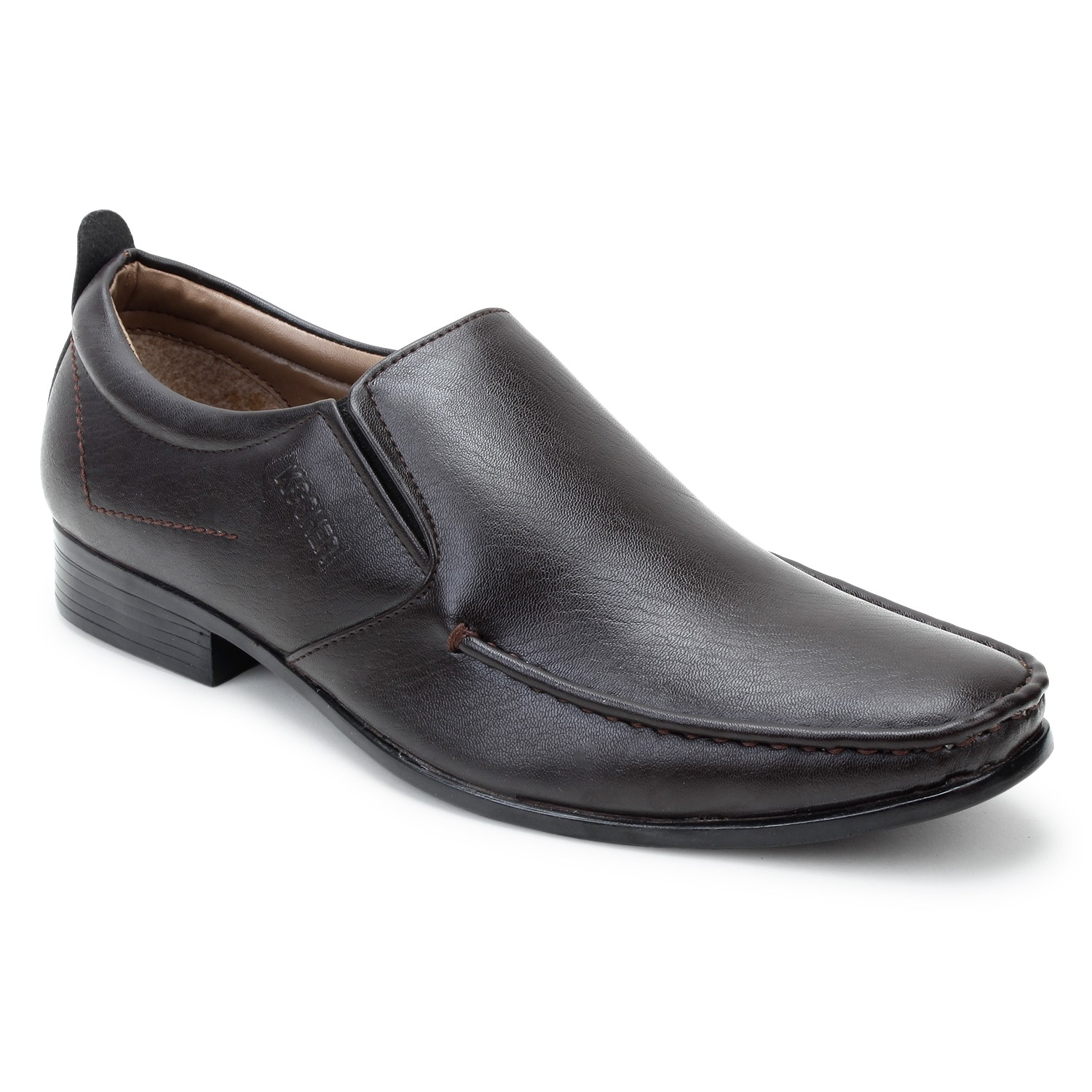 Kosher Leatherite Brown Slipon Men
