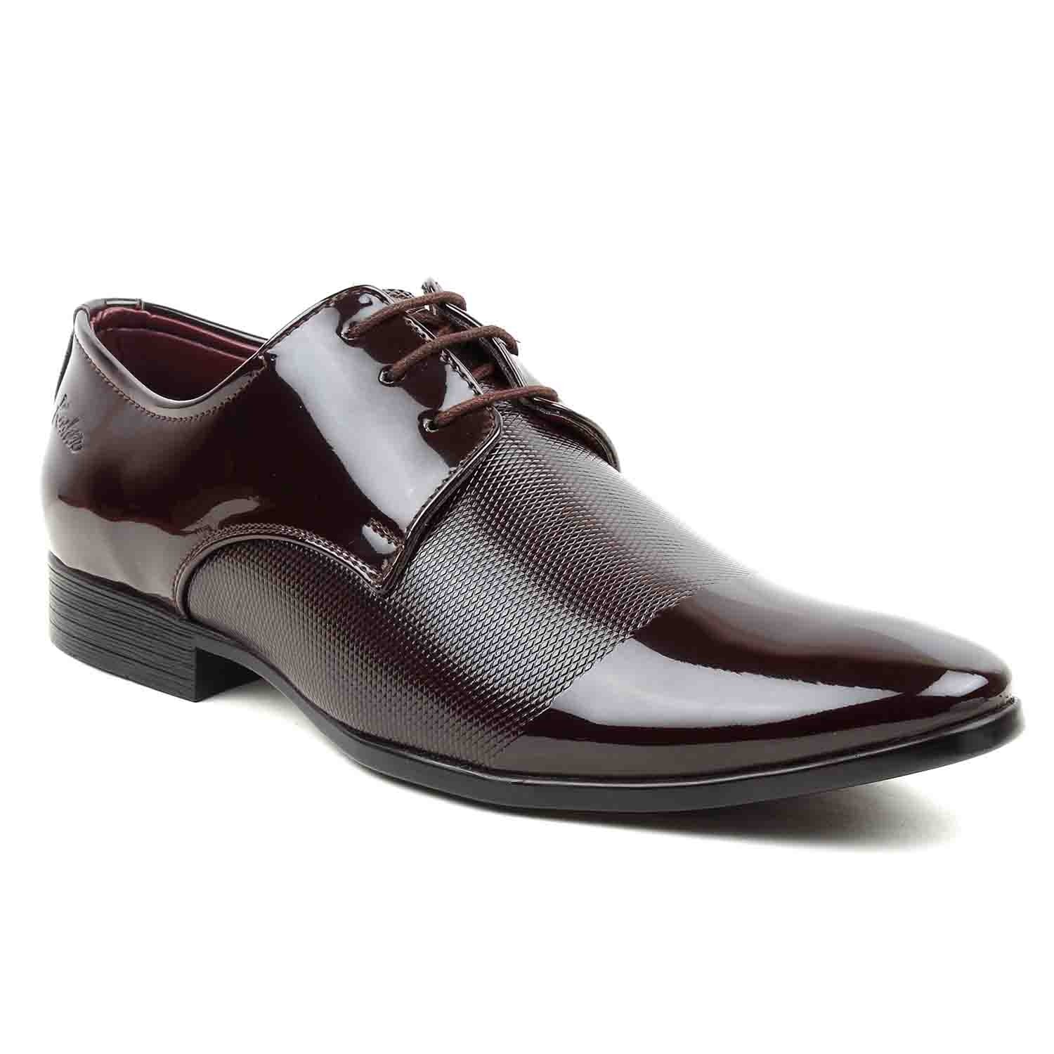 Leatherite Shoes P.Brown